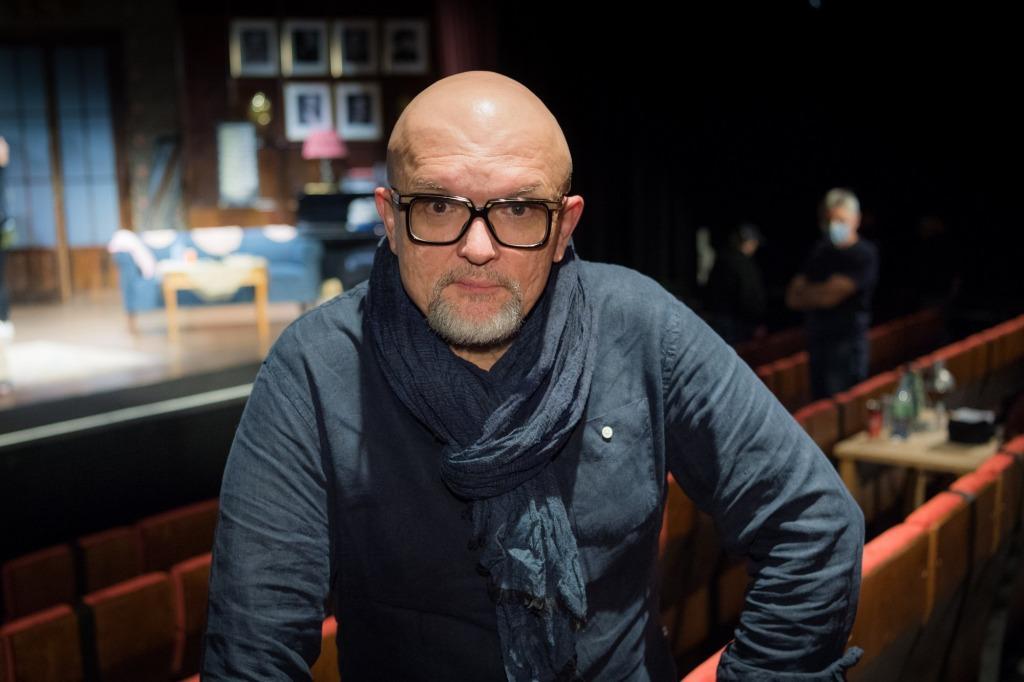 Kwartet wAteneum. Wojciech Adamczyk, reżyser przedstawienia. Fot.East News.pl